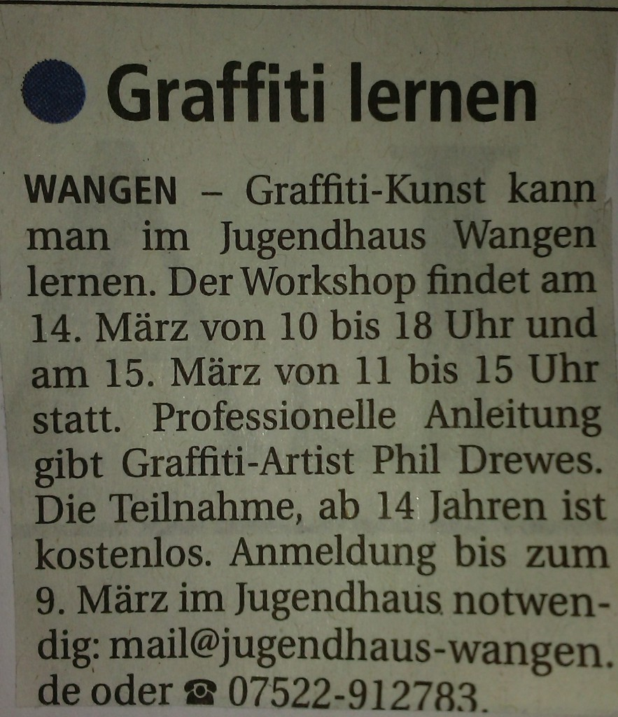 15-02-11 Graffiti Wochenblatt