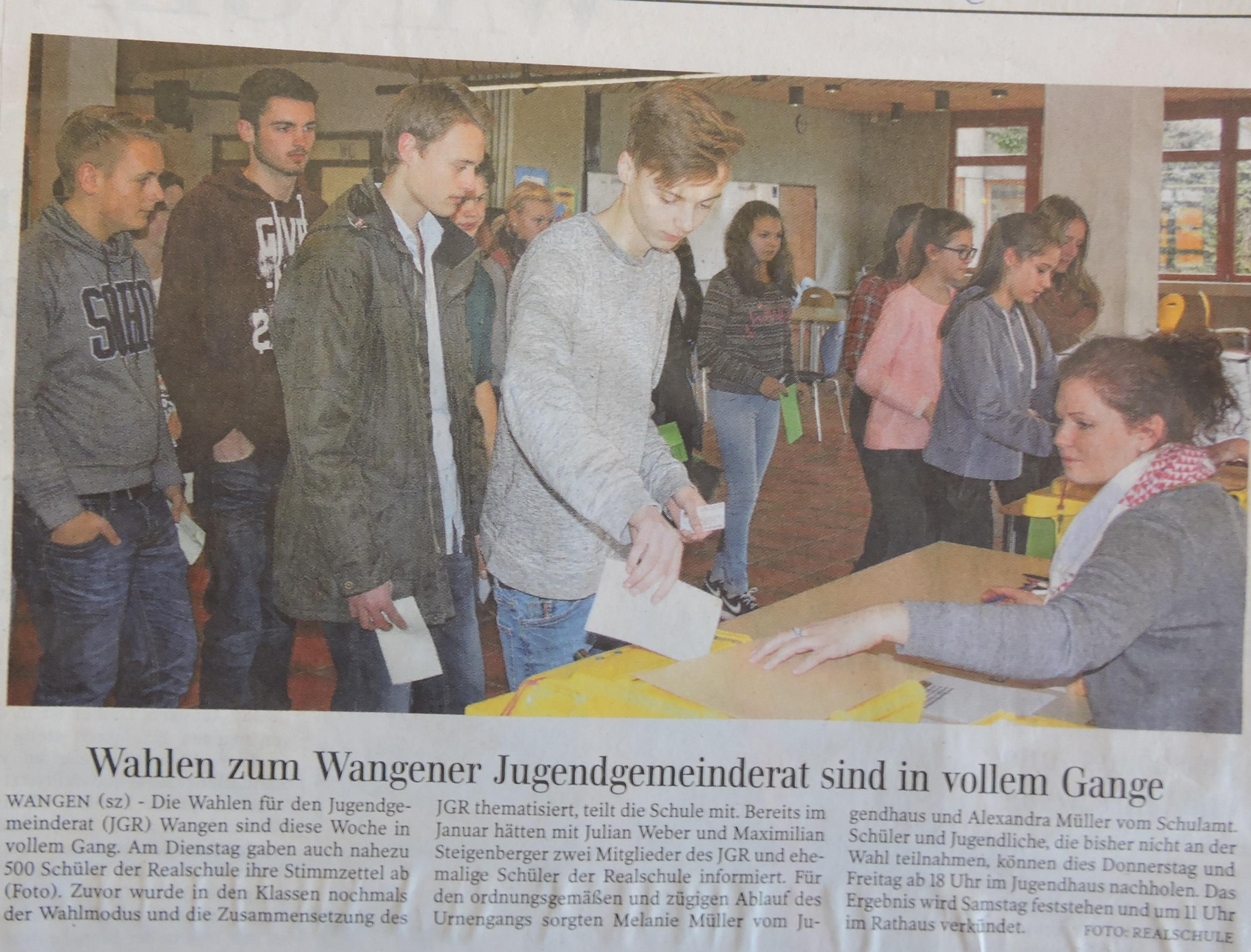 JGR Wahlen