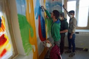 Graffiti workshop 1